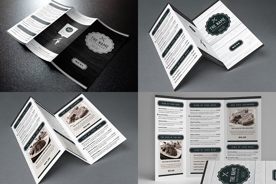 Elegant Food Menu 7