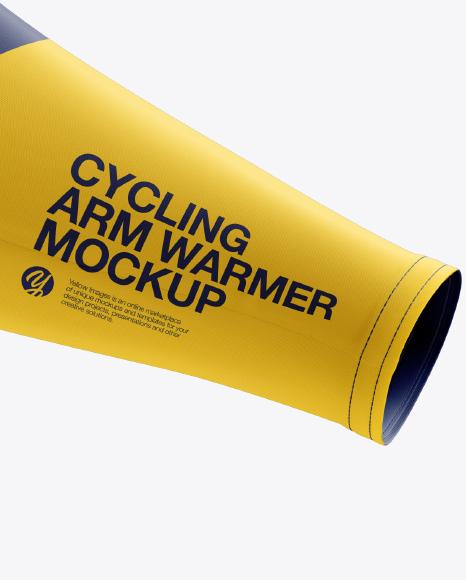 Cycling Arm Warmers mockup (Half Side View)