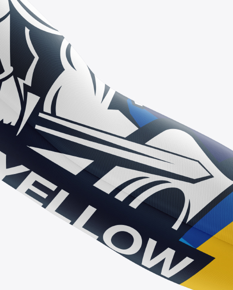Download Flat Cycling Leg Warmers Mockup Top View Yellowimages