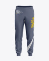 Men's Cuffed Sweatpants Mockup - Front View