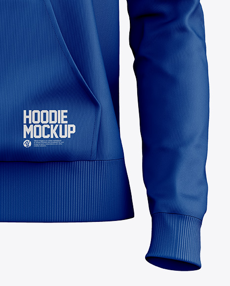 Women's Hoodie Mockup - Front View