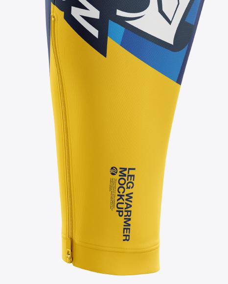Cycling Leg Warmer mockup (Side View)