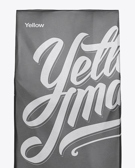 Paper Bag Mockup - Front View