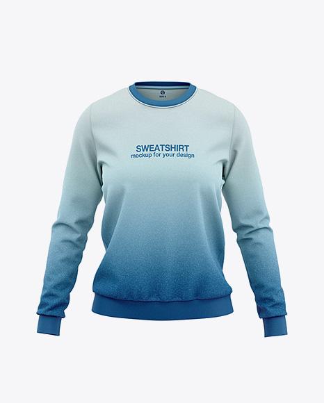 Women's Sweatshirt Mockup