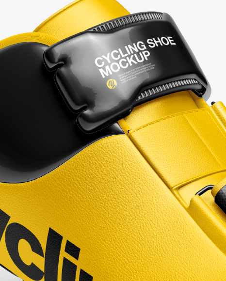Download Cycling Shoe Mockup Side View Yellowimages