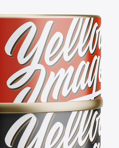 Two Tin Cans Mockup