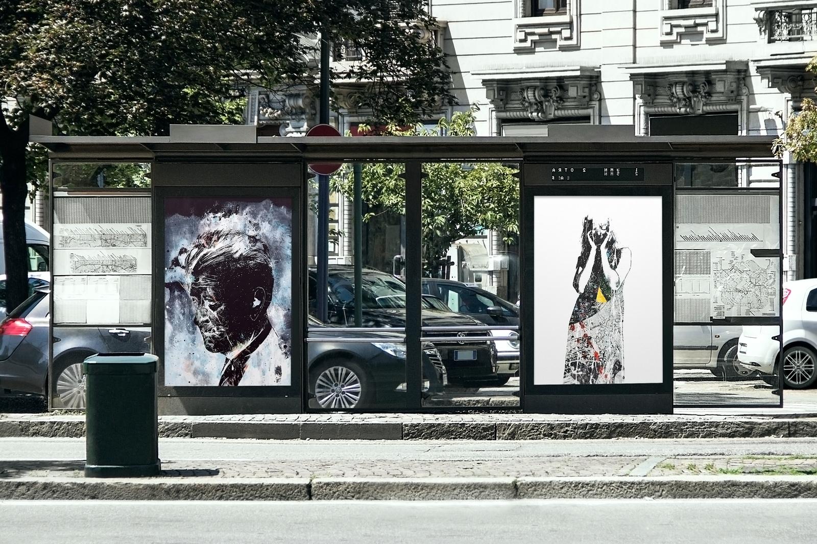 Outdoor Advertising Mockups Bundle