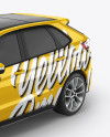 SUV Сrossover Mockup - Half Side View (High-Angle Shot)
