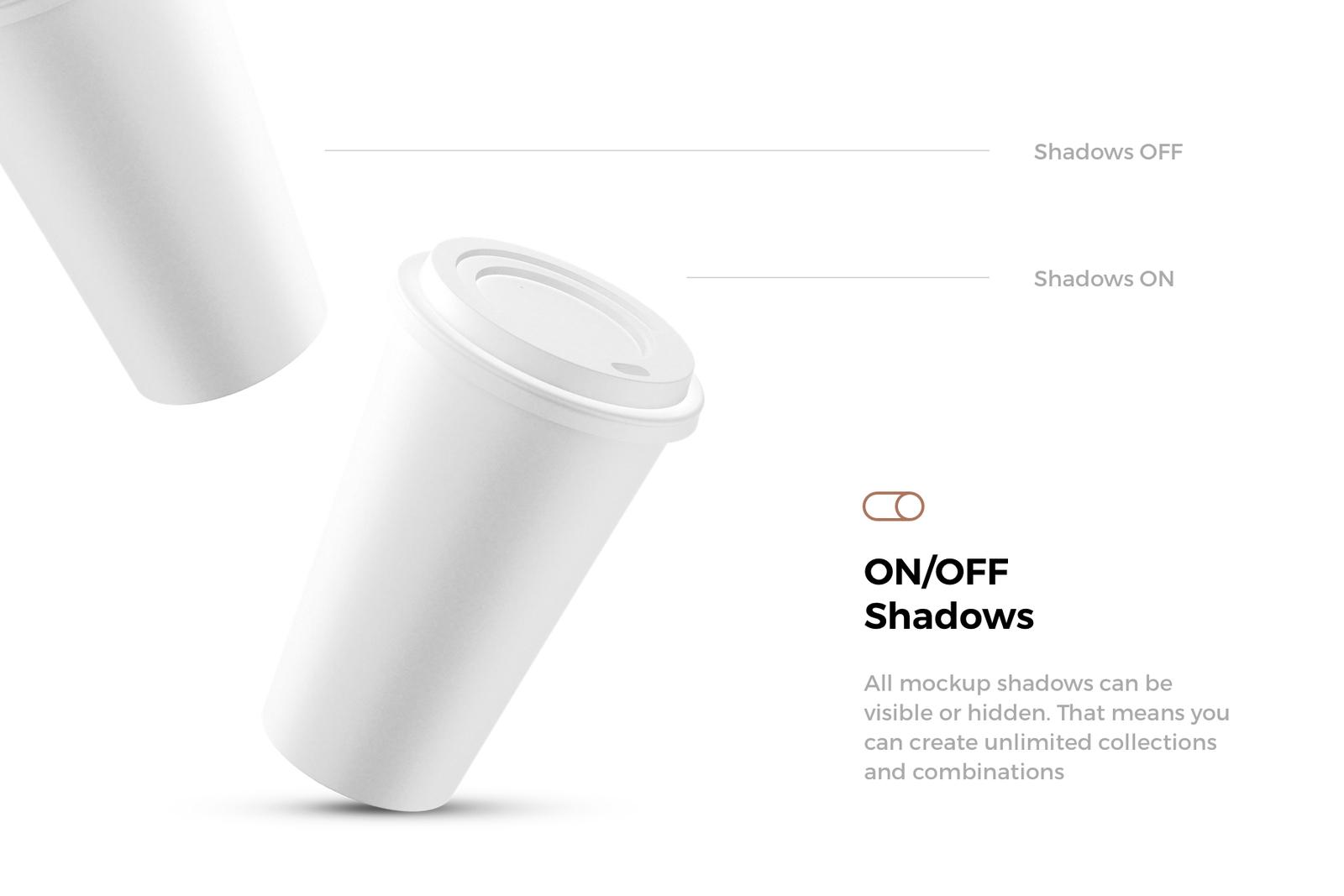 24x Paper Cups Mockups