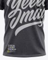 Men's Heather Loose Fit V-Neck T-Shirt – Front View