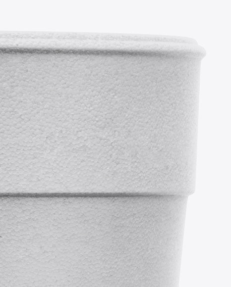 Styrofoam Cup Mockup