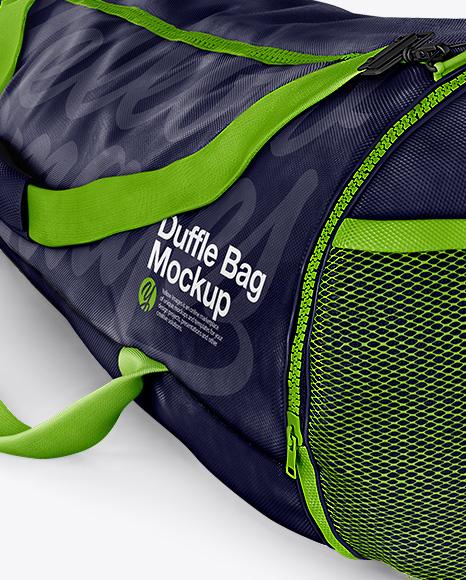 Duffle bag - Half Side View