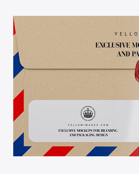 Download Kraft Paper Envelope Mockup In Stationery Mockups On Yellow Images Object Mockups Yellowimages Mockups