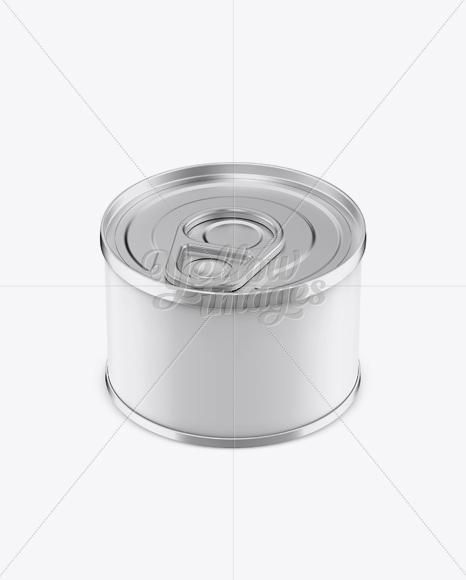 Download 60g Tin Can w/ Metal Rim Mockup Free Mockups