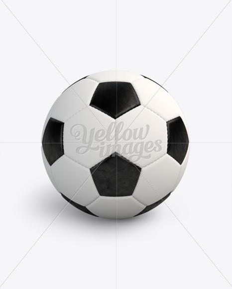 Classic Soccer Ball Mockup
