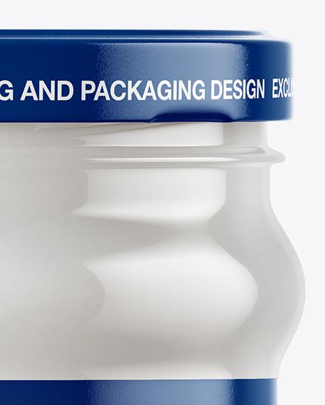 Download Clear Glass Jar With Kalamata Olives Mockup PSD - Free PSD Mockup Templates