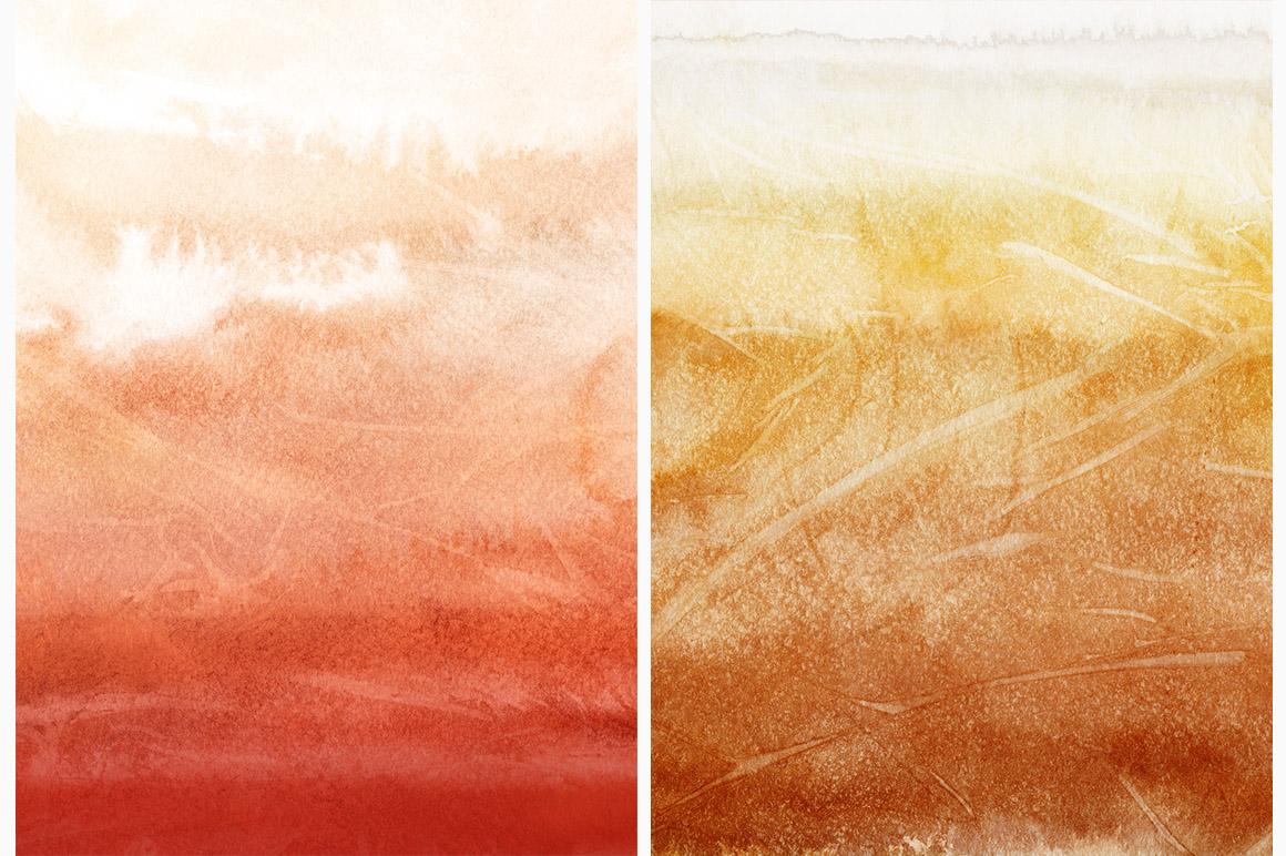 Autumn Watercolor Backgrounds
