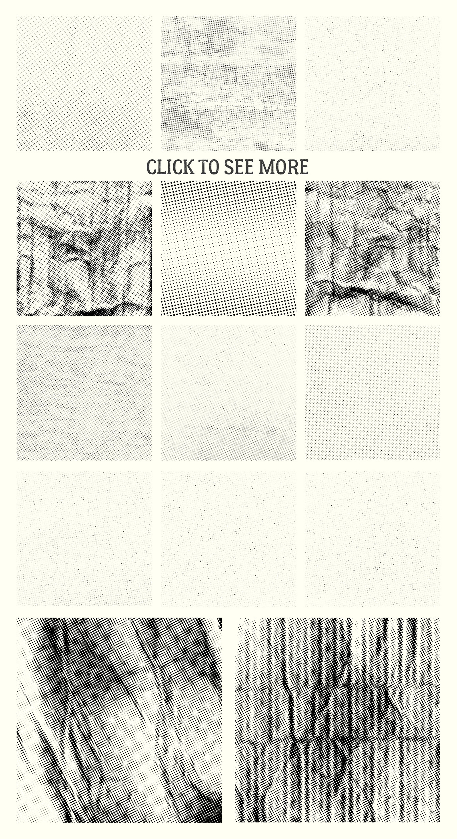 70 Halftone Textures Pack