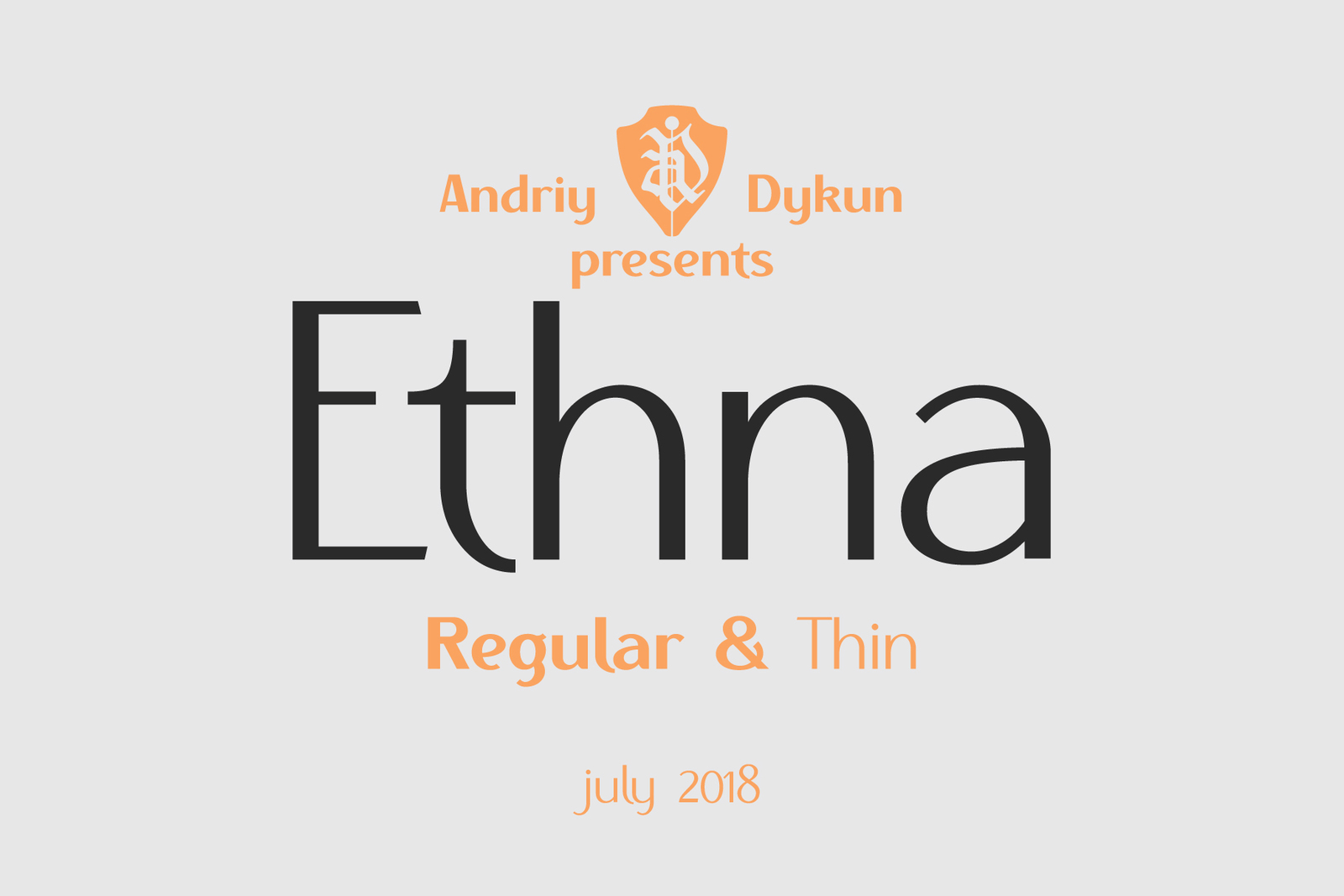 Ethna Regular & Thin
