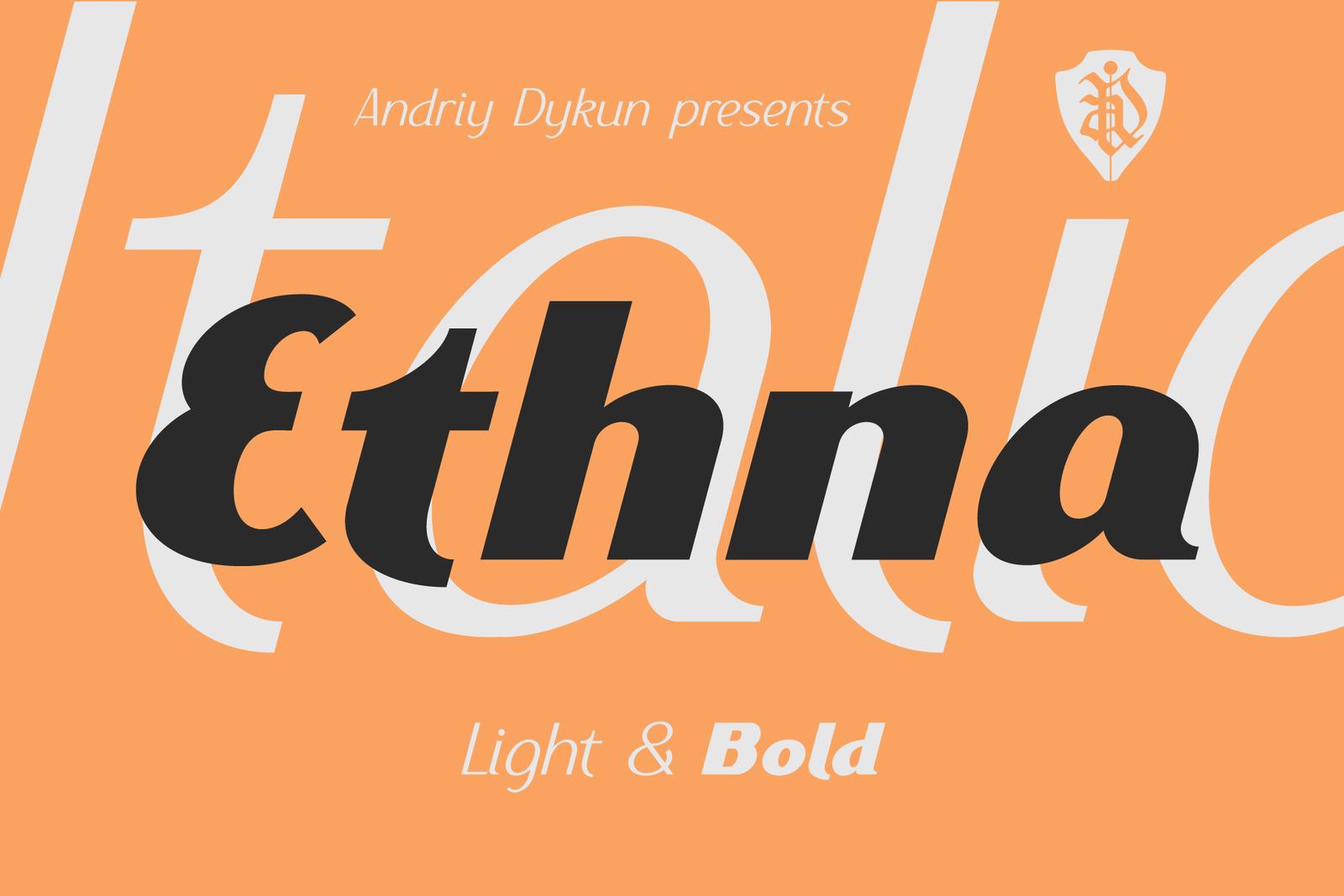 Ethna Italic