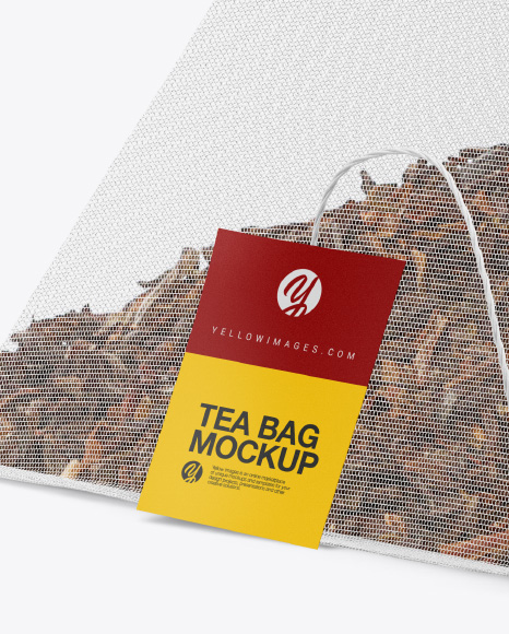 Download Pyramid Tea Bag Mockup In Packaging Mockups On Yellow Images Object Mockups Yellowimages Mockups