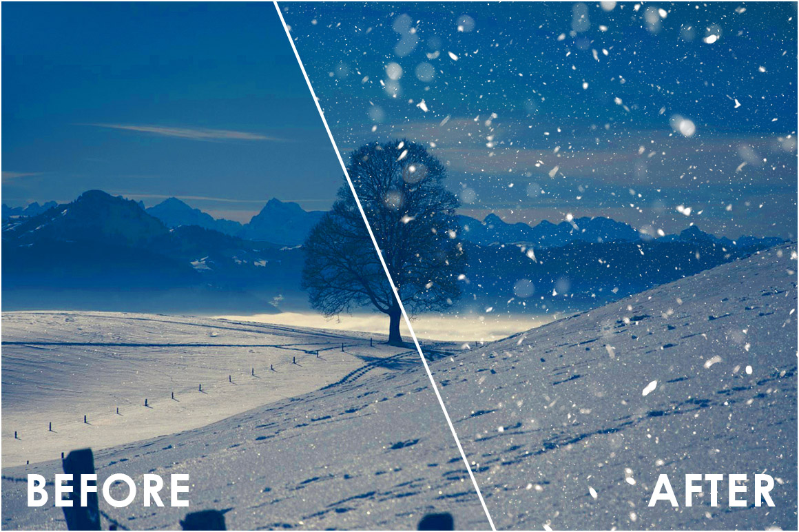 Snow Effect Overlays