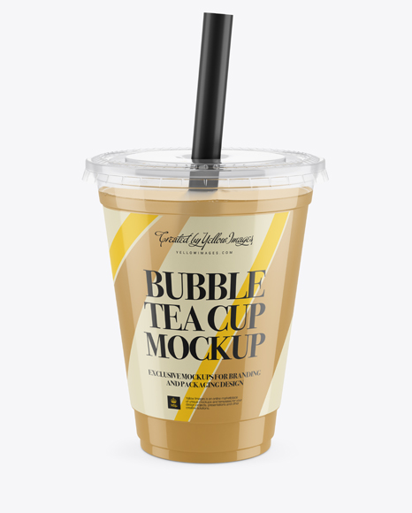 Cocktail Cup Mockup