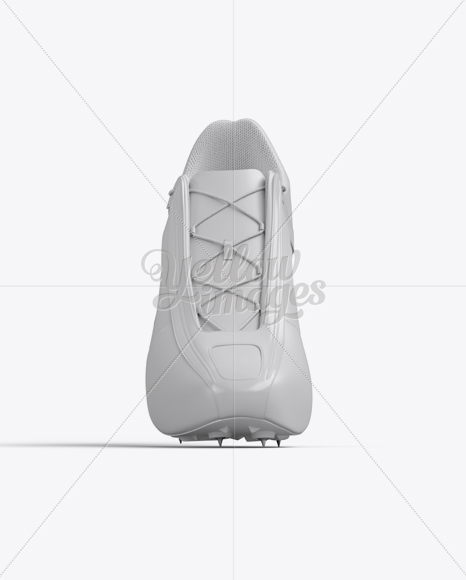 Track Spikes Mockup - Front View