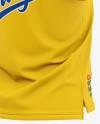 Men's Short Sleeve Pique Polo Shirt - Back Half Side View