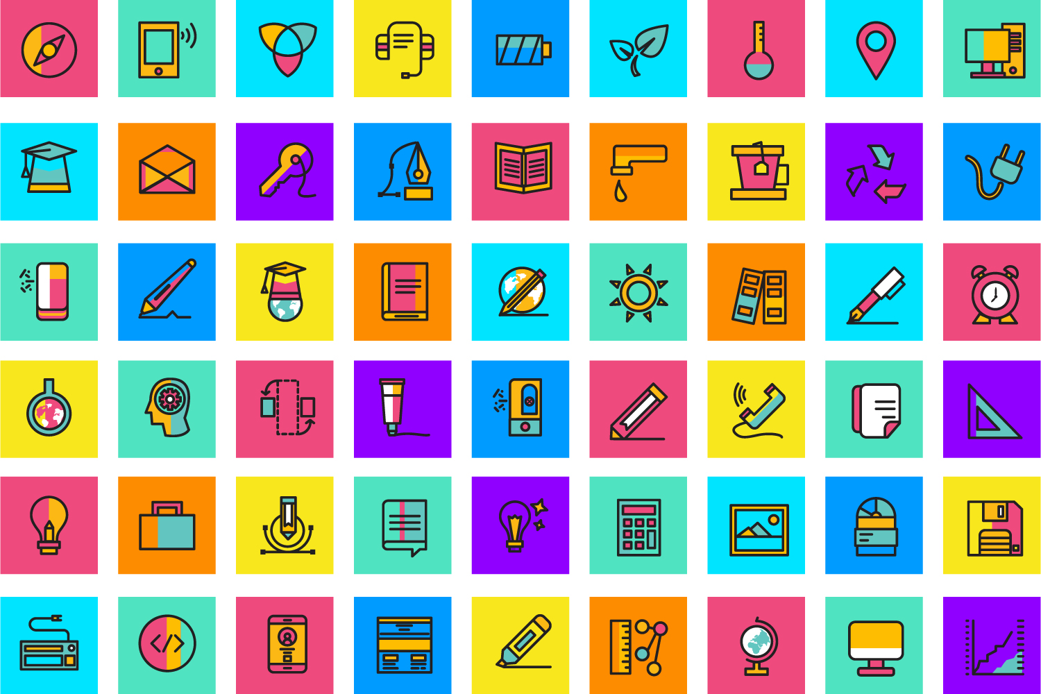 125 Beautiful Web Icons