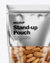 Metallic Stand-Up Pouch Mockup