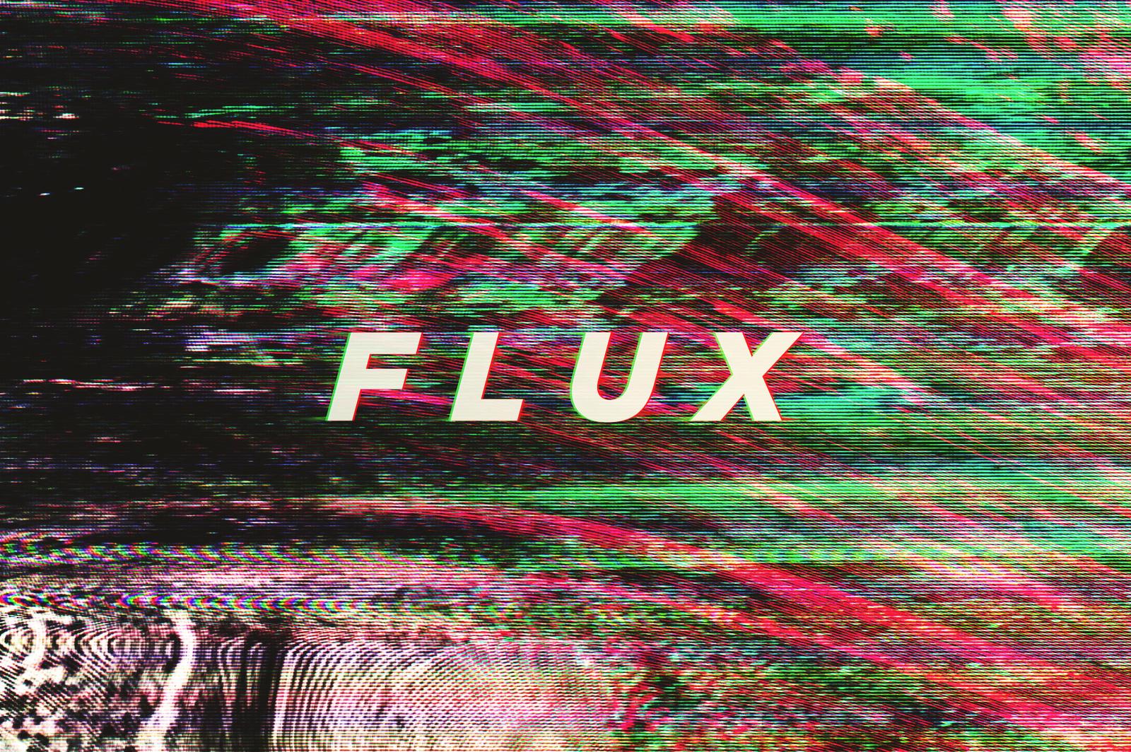 Flux Distortion Textures