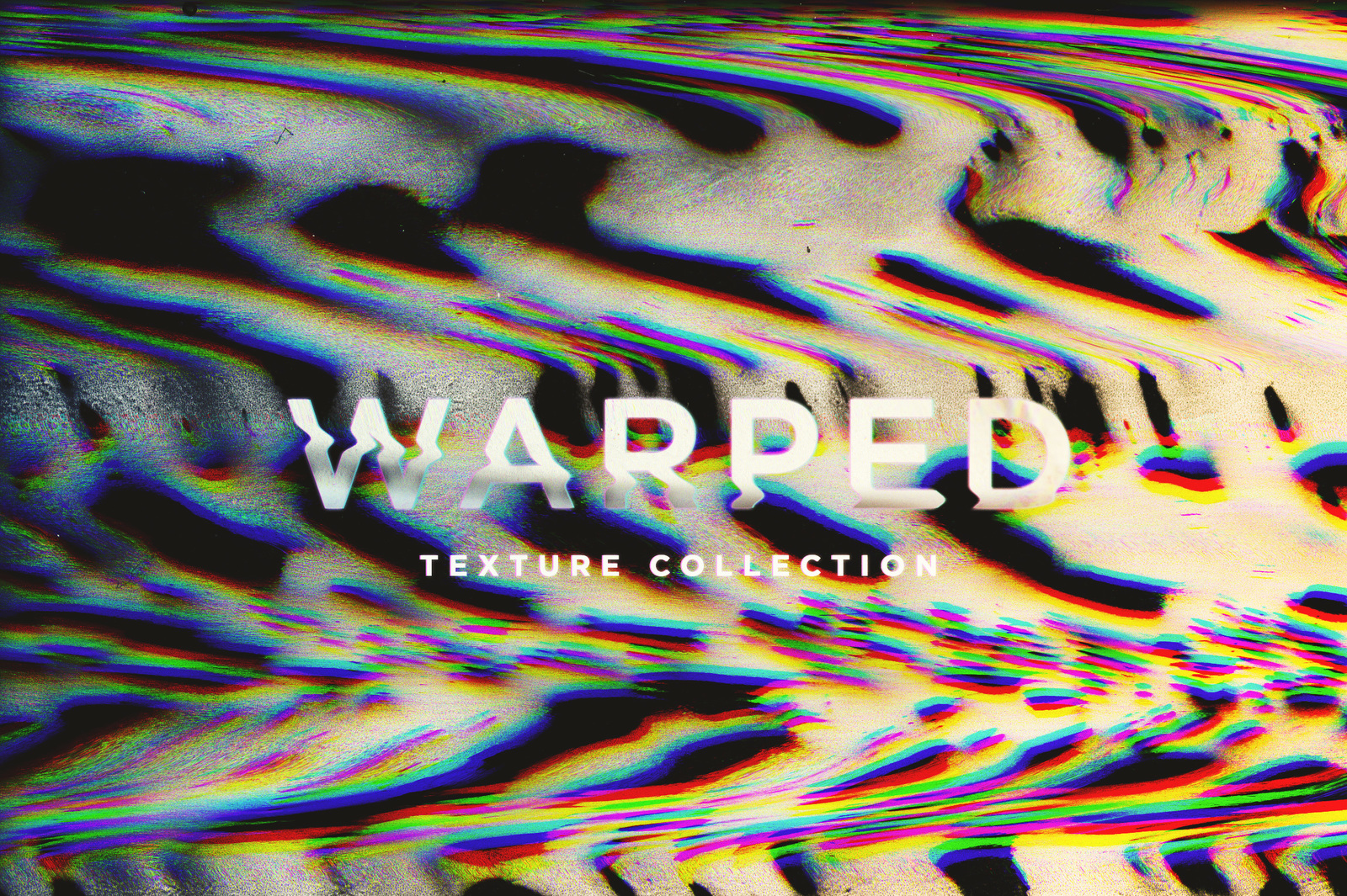 Warped Abstract Textures