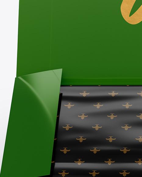 Download Opened Glossy Box Mockup PSD - Free PSD Mockup Templates