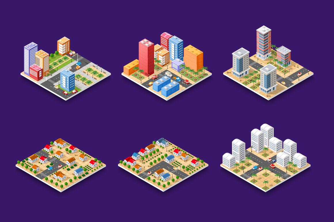 City vector illustration urban architecture