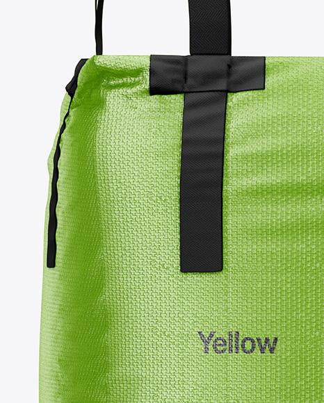 Jumbo Bag Mockup - Front View