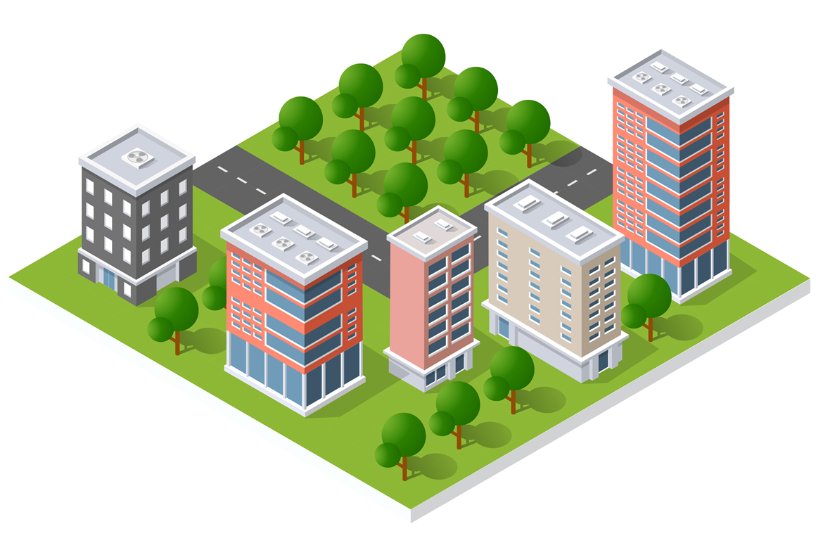 City module creator Nature City