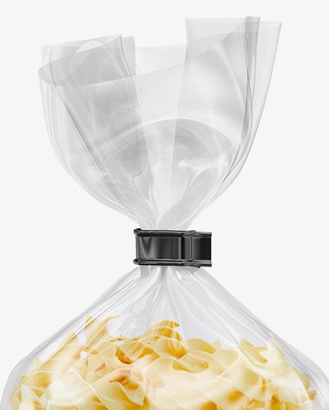 Fusilli Pasta Package Mockup
