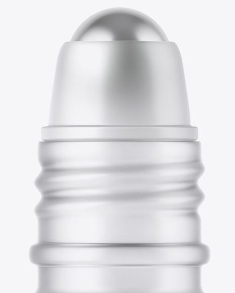 Frosted Glass Roller Bottle Mockup