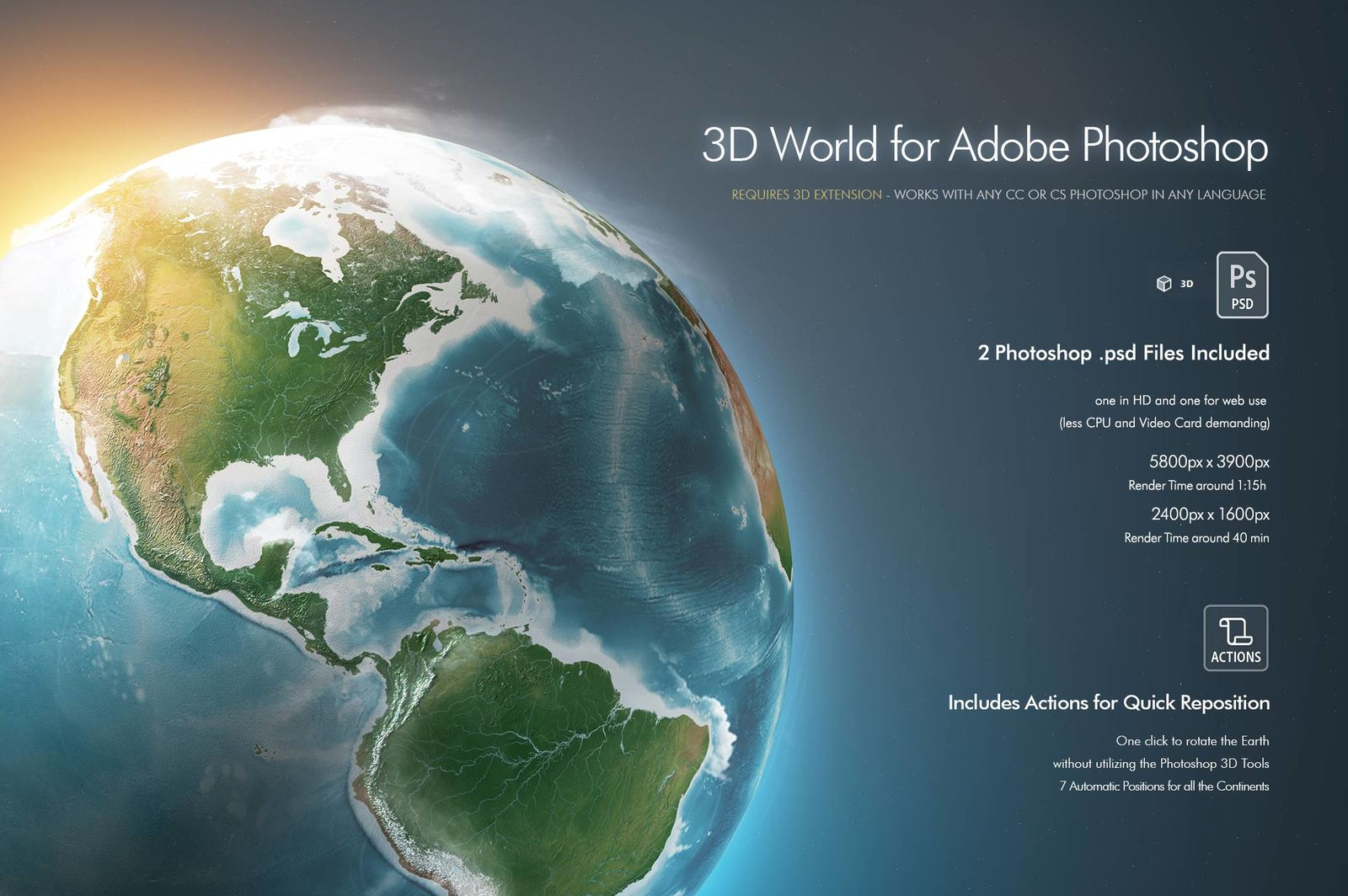 Photoshop 3D World
