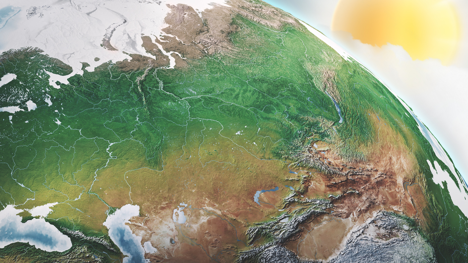 Earth Illustrations and Infographics