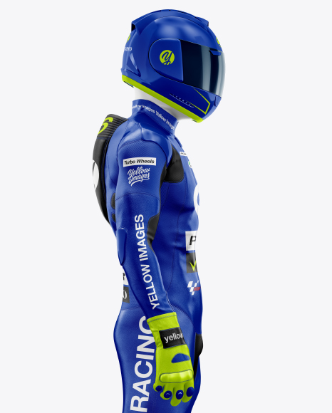 MotoGP Racing Kit Mockup