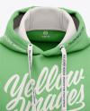 Men's Pullover Hoodie - Front View Of Hooded Sweatshirt