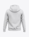Men's Pullover Hoodie - Back View