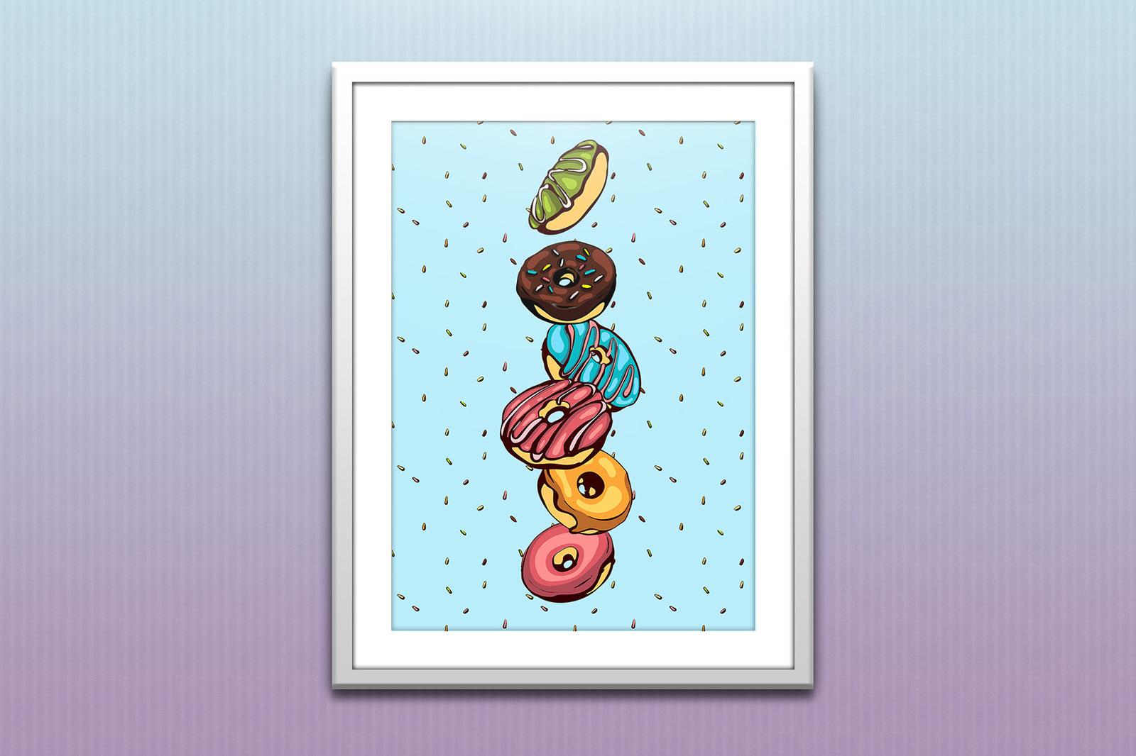 12 Patterns & 30 Donuts Set