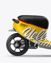 Scooter Mockup - Right Side View