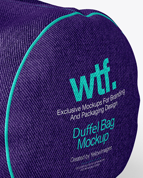 Duffel Bag Mockup