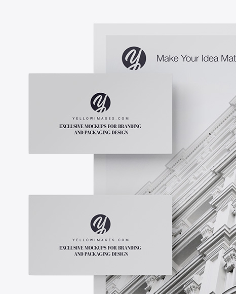 Free Mockup Download Business Card