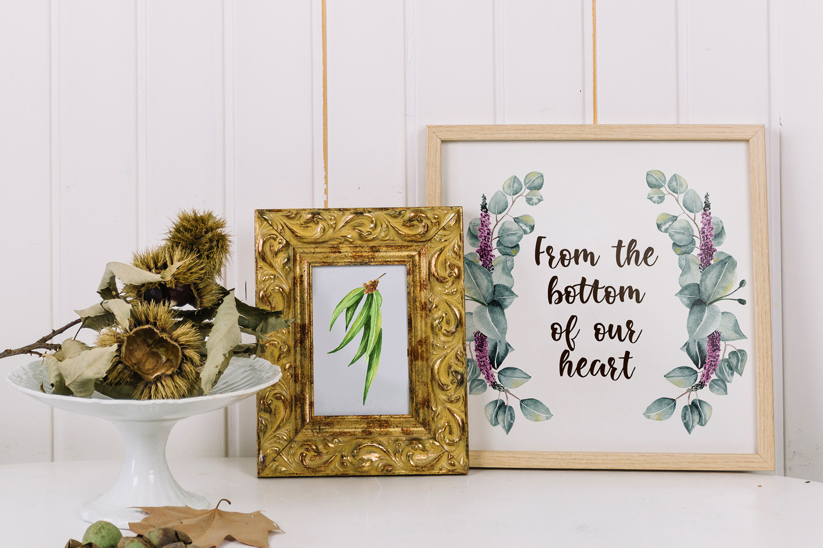 Eucalyptus Collection+Letter