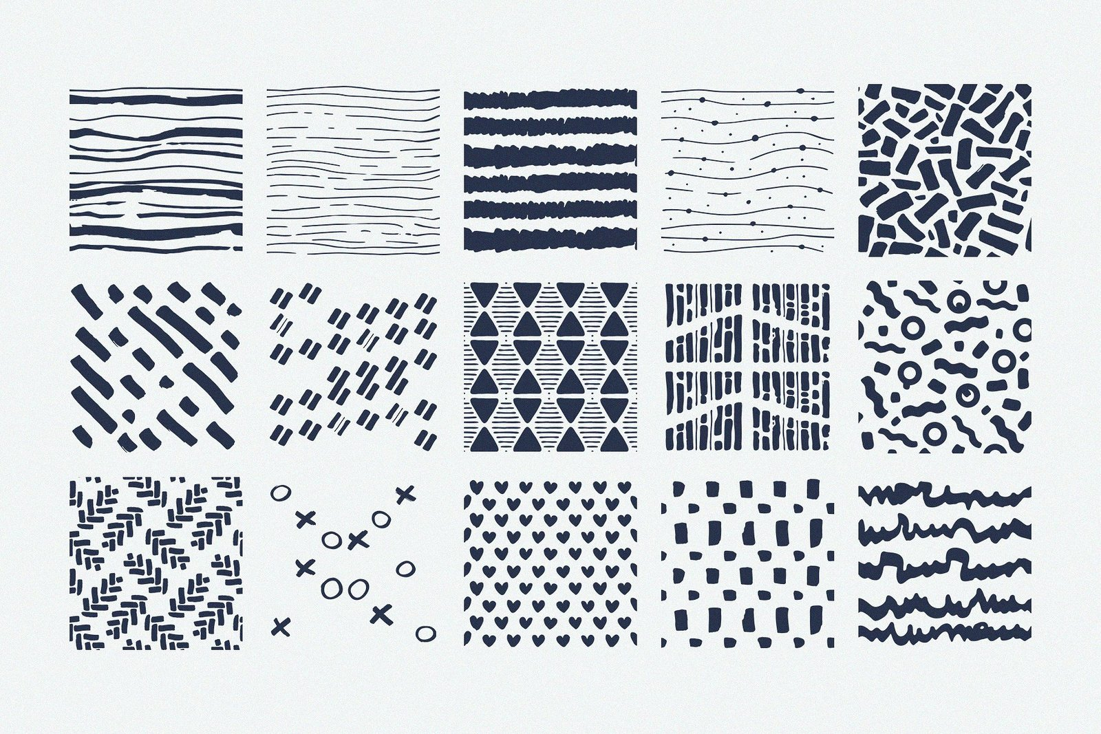 Procreate Patterns: Brushes Set